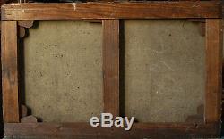 Tableau ancien signé Nu XIX°s