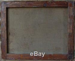 Tableau ancien signé Nu assis Toile