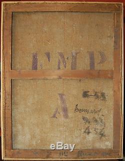 Tableau ancien signé BONNARD nature morte Toile