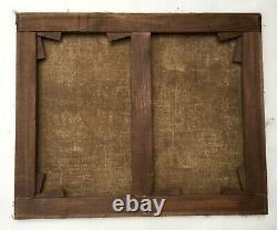 Tableau ancien signé Zorkoczy, Ecole Hongroise, Huile sur toile, Début XXe