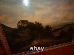 Tableau paysage- JOLIE PEINTURE ANCIENNE