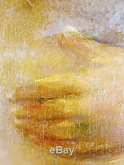 Willem van den Bruel (Belge, 1871-1942) Ancien Tableau Peinture Huile Original